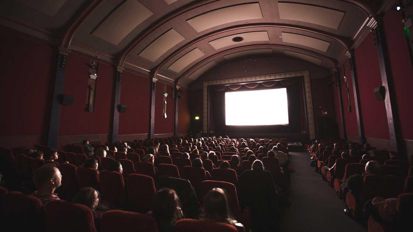 inside a cinema